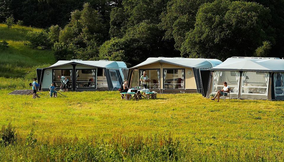 Camping les Oursinieres au Pradet
