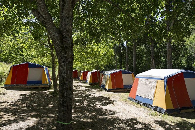 Camping le Soleil Fruité dans la Drome