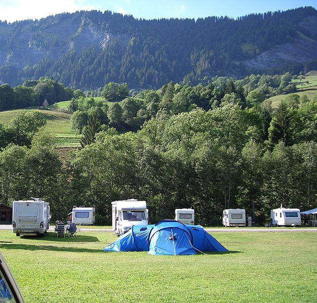 Camping les Bastets dans la drome